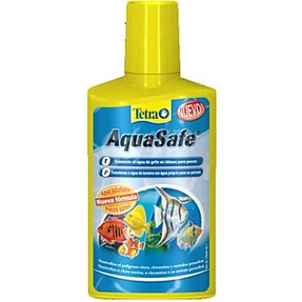TETRA AQUASAFE Neutralizador de agua para peces Envase 250 ml