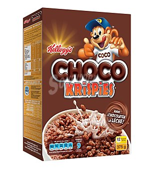Kellogg's Cereales choco krispies Paquete 375 gr