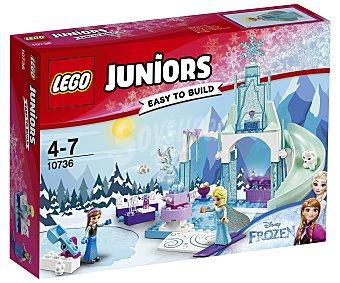 LEGO Juniors Juego de construcciones con 94 piezas Zona de juegos invernal de Anna y Elsa, Juniors Frozen 10736 lego