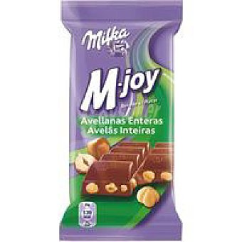 Milka Chocolate M-joy con leche-avellanas Tableta 60 g