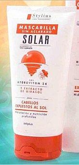 DELIPLUS MASCARILLA CABELLO SOLAR STYLIUS SIN ACLARADO (TAPON MARRON) TUBO 150 cc