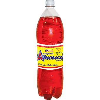 NATURANDINA AMERICA Refresco latino sabor tropical Botella 2 l