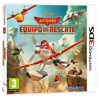 Nintendo Aviones: Equipo de rescate para 3DS