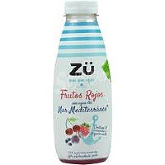 Zü Premium Frutos rojos con agua de mar Botellín 50 cl