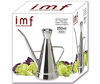 IMF Aceitera o vinagrera de 500 mililitros modelo Geo, con diseño clásico de acero inoxidable 1 Unidad