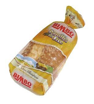 BIMBO SEMILLA DE ORO pan de molde rústico Bolsa 675 g