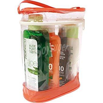 Babaria Pack con aceite protector zanahoria FP-10 + leche protectora solar aloe FP-30 +protector solar capilar + after sun aloe vera