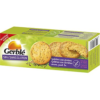 Gerblé Pan con semillas rico en fibra sin gluten Caja 120 g