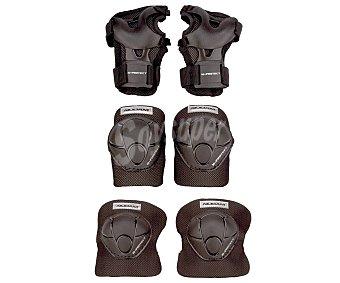 NIJDAM Set de Protecciones para Patinaje talla M-L 1 Unidad