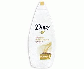 Dove Gel de baño o ducha seda 750 mililitros