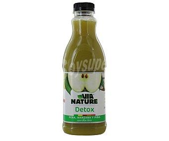VIANATURE Zumo Verde (pera, manzana y mango con aloe vera) 900 Mililitros