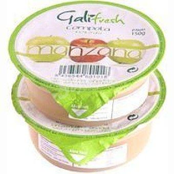 FRESHCUT Compota de manzana Pack 2x150 g