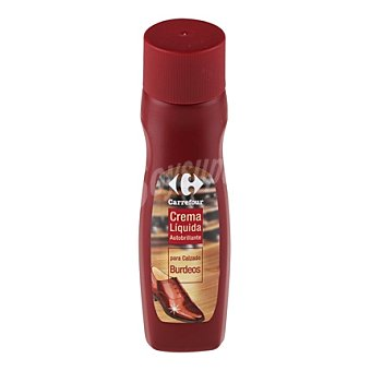 Carrefour Crema líquida autobrillante burdeos 50 ml