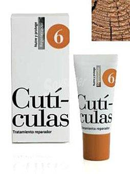 Cosmeticos Crema manos y cuticulas Nº 6 (repara, nutre y protege) Tubo 15 cc