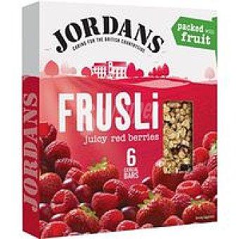 Jordans Barritas de cereal-frutas del bosque Caja 180 g