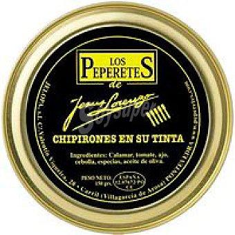 LOS PEPERETES Chipirón en su Tinta Lata 150g