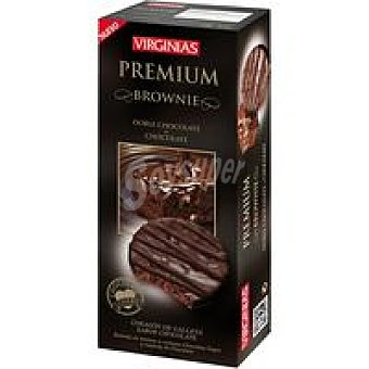 Virginias Galleta premium Brownie Caja 120 g