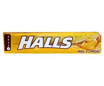 Halls Caramelos sabor miel-limón con azúcar 33,5 Gramos