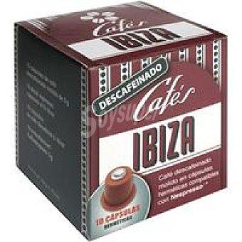 Cafés Ibiza Cápsula Descafeinado Espreso 50gr