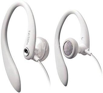 Philips SHS3201 - Auriculares de clip, blanco