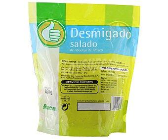 Productos Económicos Alcampo Abadejo desmigado salado 250 gramos