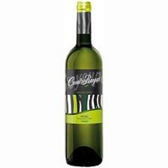 CUATRO RAYAS Vino blanco verdejo ecológico Botella de 75 cl