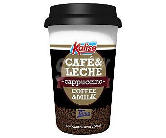 Kalise Coffee&milk Capuccino bebida a base de leche y café Arábica con cacao Vaso 260 ml