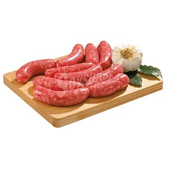 Emcesa Longaniza blanca fresca de cerdo Bandeja 386 g peso aprox