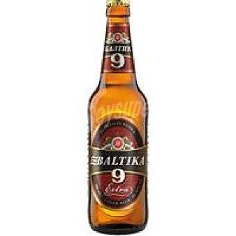 BALTIKA 9 Cerveza Botellín 50 cl
