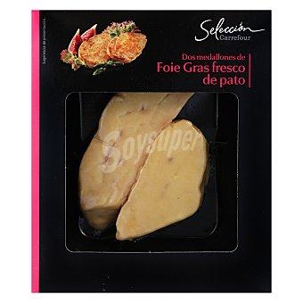 Carrefour Selección Foie gras pato Bandeja de 100 g