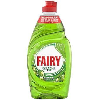 Fairy Limpio & fresco lavavajillas a mano concentrado manzanas del campo botella 383 ml Botella 383 ml