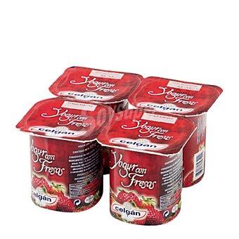 Celgan Yogur con fresas 125 g