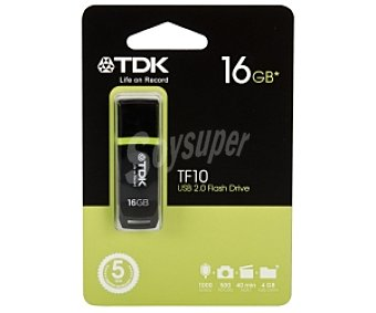 TDK TF10 Memoria 16GB Usb 2.0