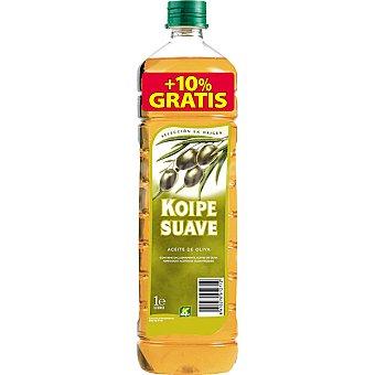 Koipe Aceite de oliva suave Botella 1 l + 10% gratis