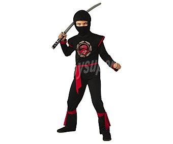 Rubie's Disfraz infantil Dragón Ninja Negro, talla L, 8-10 años,