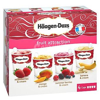 Häagen-Dazs Vasitos de helado fruit attraction 4 ud
