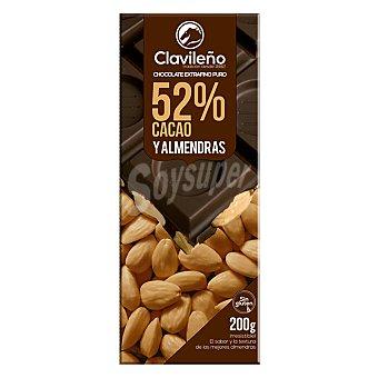 Clavileño Chocolate extrafino puro con almendras 200 g