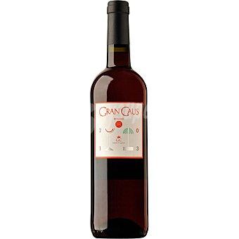 GRAN CAUS Vino rosado merlot de Cataluña botella 75 cl botella 75 cl