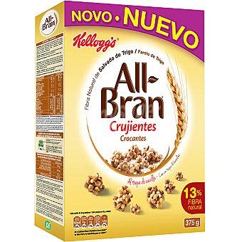 Kellogg's All bran All Bran Crujientes al toque de vainilla 375 gramos
