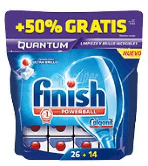FINISH CALGONIT Lavavajillas máquina quantum 26 pastillas