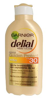 Delial Garnier PROTECTOR SOLAR GOLDEN F30+ (LECHE) *VERANO* BOTELLA 200 cc