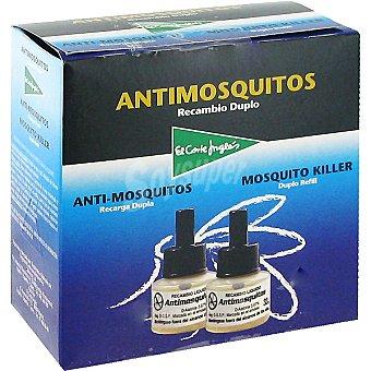 El Corte Inglés Insecticida volador eléctrico antimosquitos recambio 2 unidades