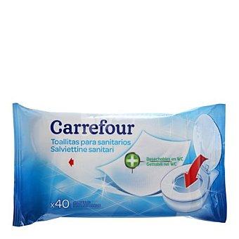 Carrefour Toallitas para sanitarios 40 ud