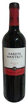 Abadia Mantrus Vino tinto ribera duero roble Botella 750 cc