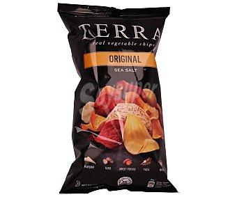Terra chips Patatas fritas lisas de vegetales exóticos 110 g