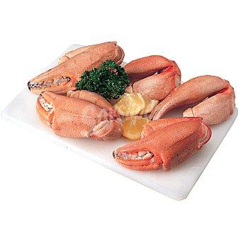 Bocas de cangrejo cocidas gordas