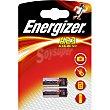 Pila alcalina 12 V A23 Blister 2 unidades Energizer
