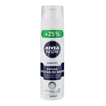 Nivea Espuma de afeitar Sensitive para piel sensible 200 ml