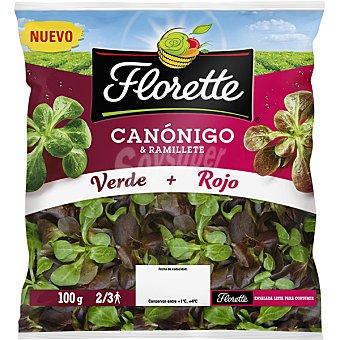 Florette Ensalada canónigo & ramillete bolsa 100 g bolsa 100 g