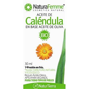 YNSADIET NaturFemme aceite de caléndula Bio 100% puro para todo tipo de pieles  envase 30 ml